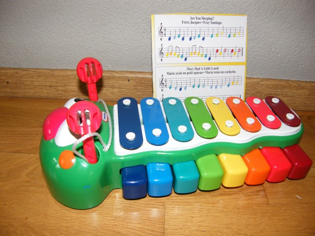 G115 Riedel de rups Xylofoon
