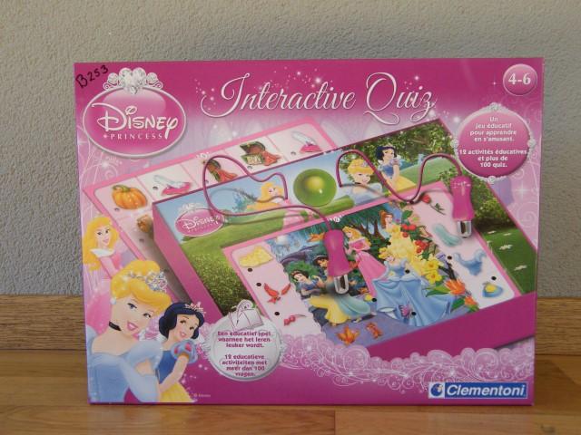 B253 Princess interactieve quiz